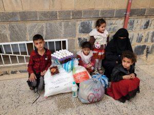 Alimentación para las familias en Yemen