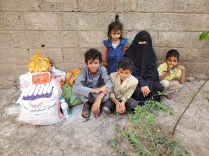 packs solidarios para ayudar a Yemen