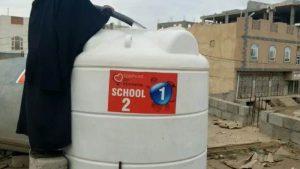 Agua en los coles de Yemen
