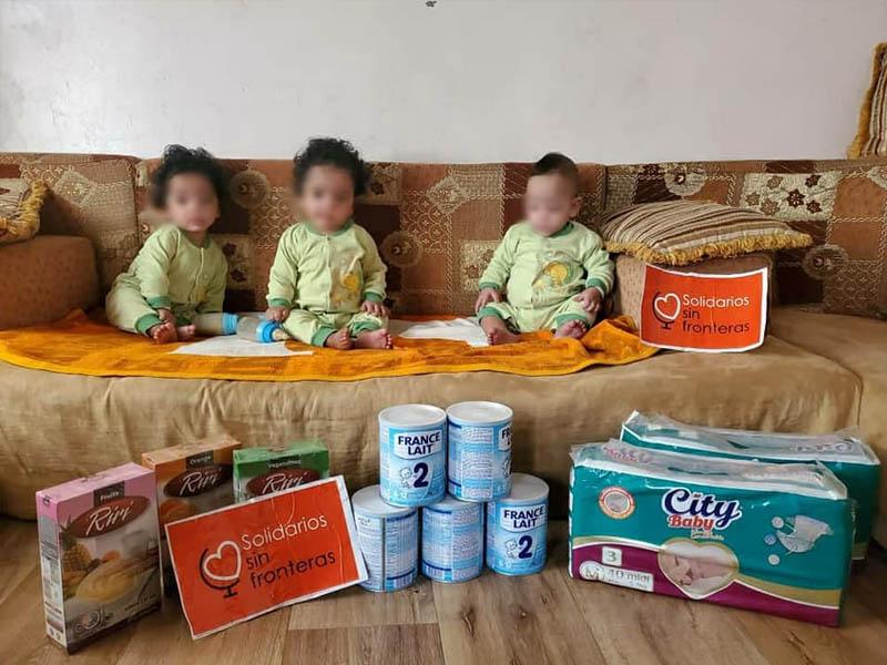 Trillizos en Yemen