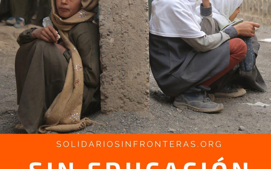 La educación es un derecho fundamental para la Infancia