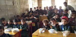 Desayunos para educar en Yemen