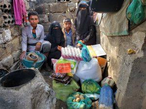 Familias en Yemen