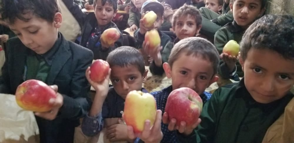 ¡Hoy toca manzana!