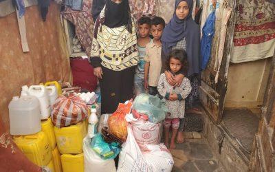 6 años y medio alimentando en Yemen